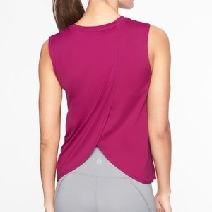 ATHLETA Sunlover SPF Tank, Exotic Fuchsia, MEDIUM